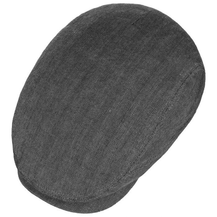 Belfast Cotton-Mix Flat Cap anthracite