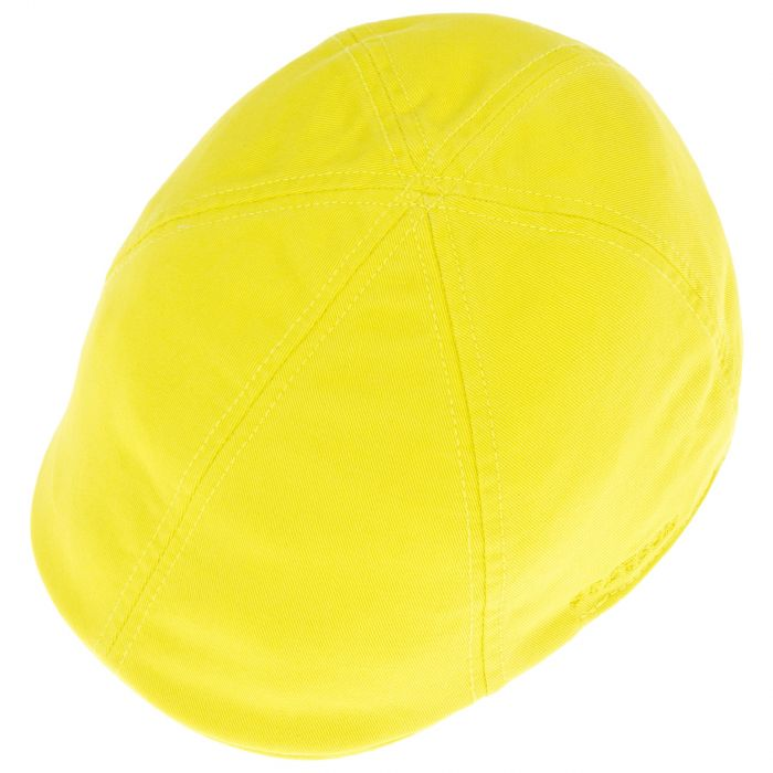 Texas Sun Protection Flat Cap yellow