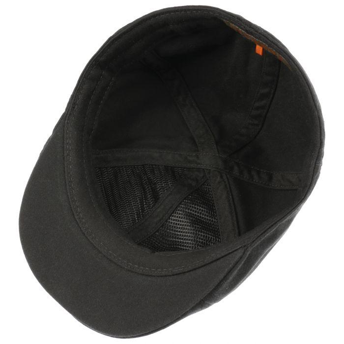 Texas Sun Protection Flat Cap black