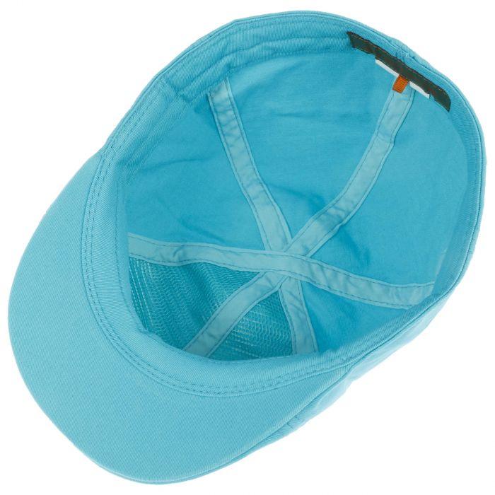 Texas Sun Protection Flat Cap turquoise