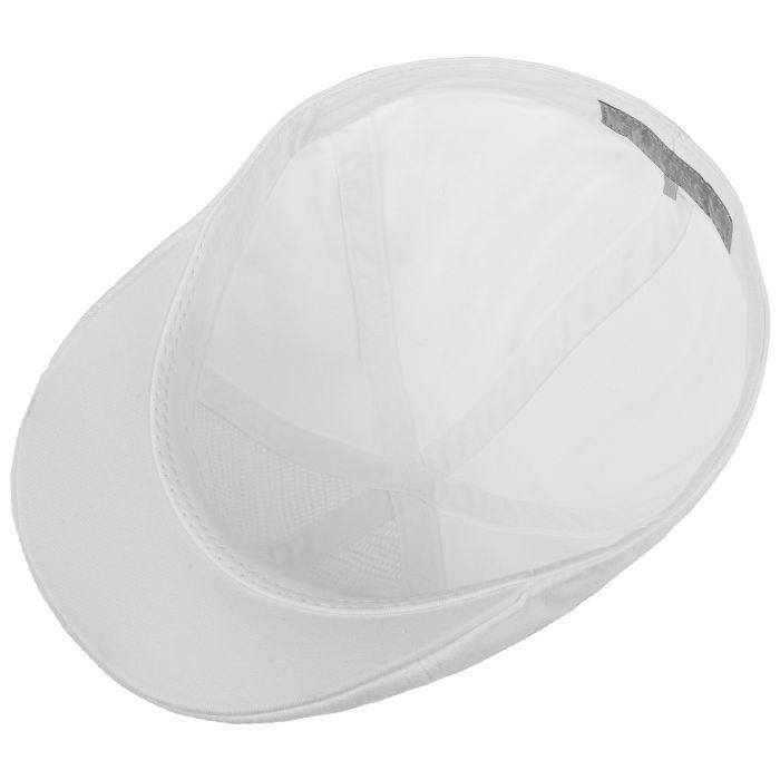 Texas Sun Protection Flat Cap white
