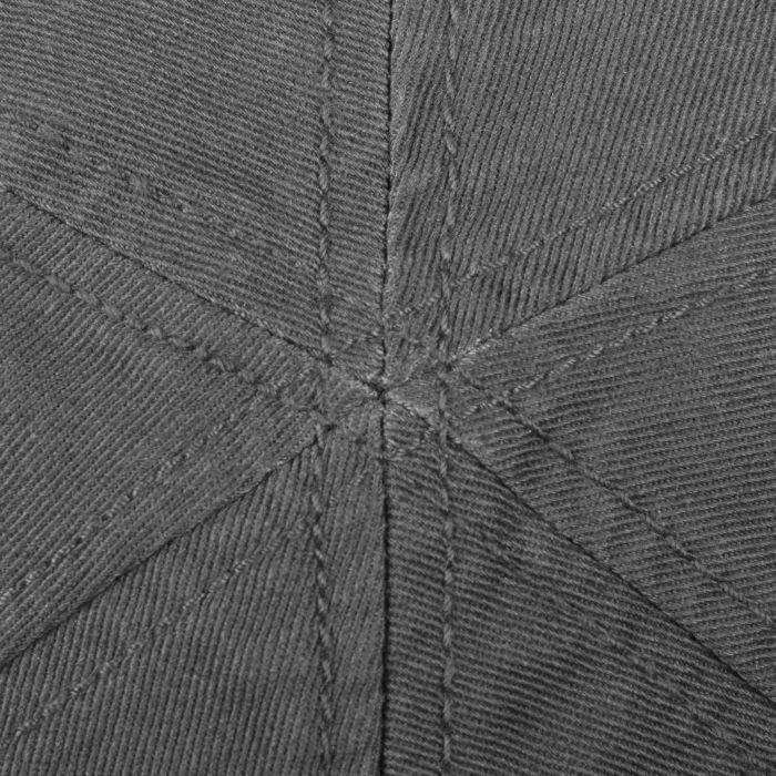 Texas Sun Protection Flat Cap dark grey