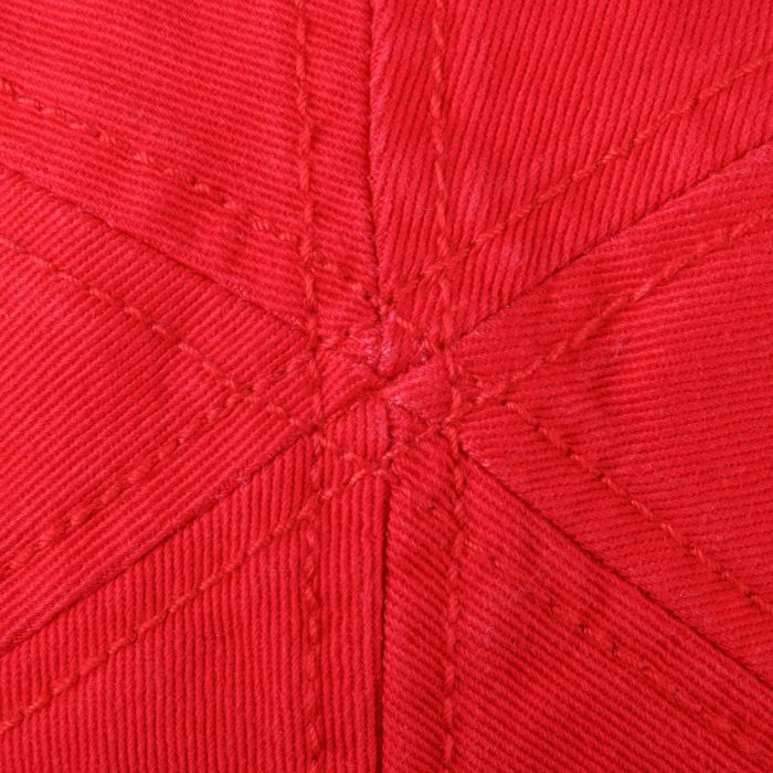 Texas Sun Protection Flat Cap red