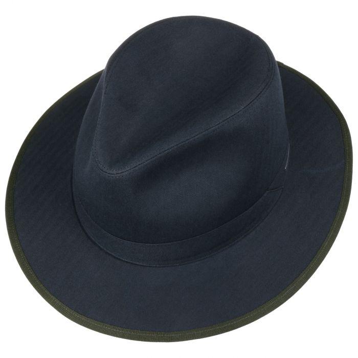 Persaro Cotton Traveller Hat navy