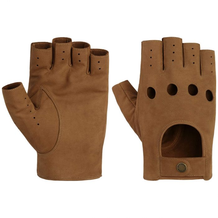 Racing Leather Gloves brown