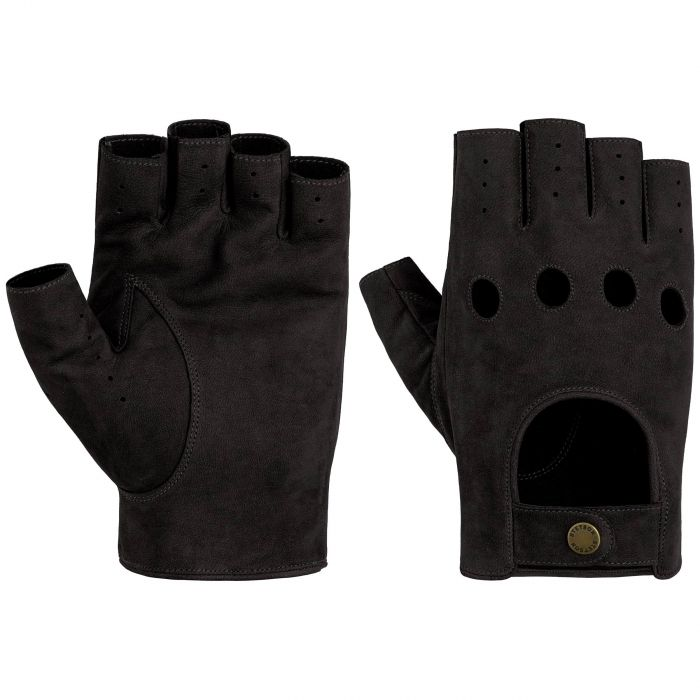 Racing Leather Gloves black