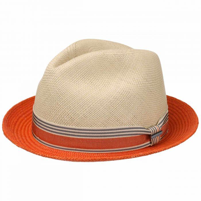 Twotone Player Hat Panama Hat orange