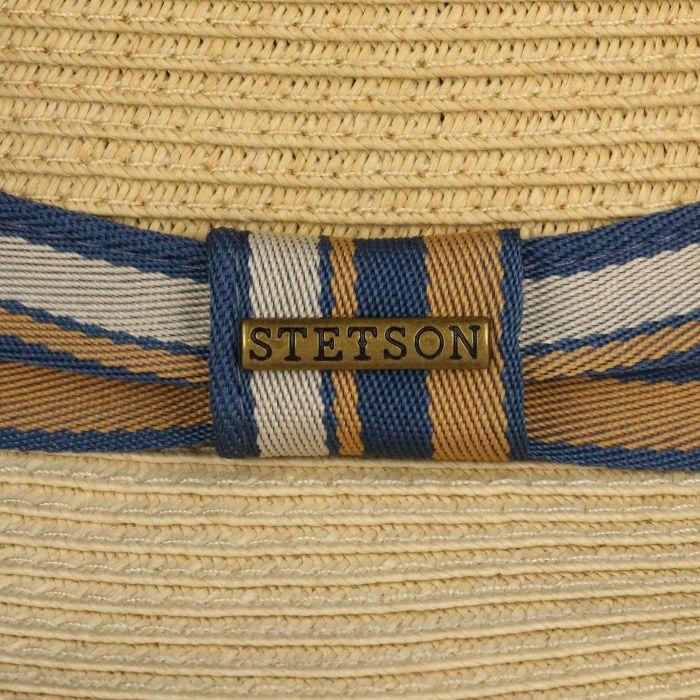 Licano Toyo Trilby Straw Hat beige
