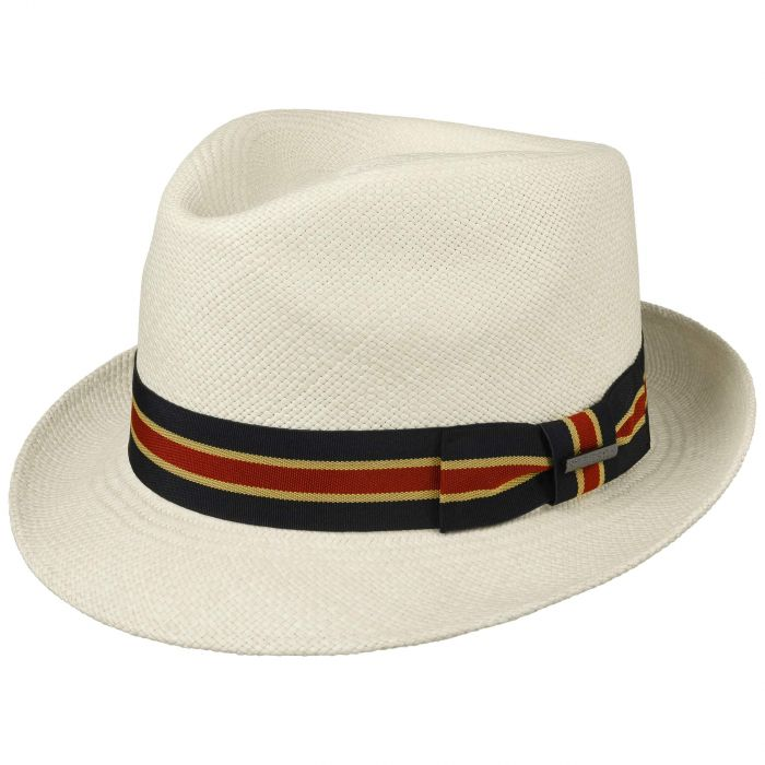 Linneton Trilby Panama Hat nature