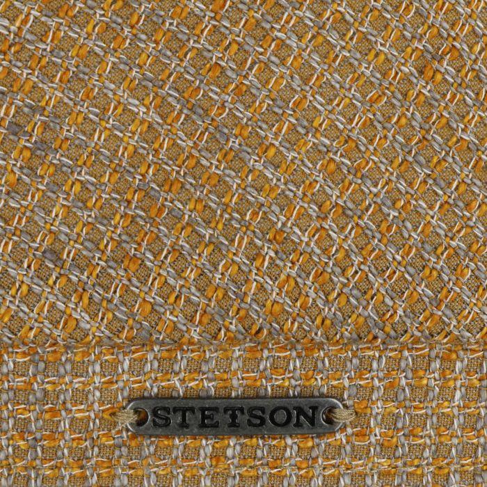 Matia Linen Mix Flatcap orange