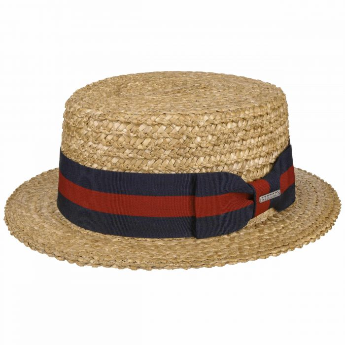 Boater Wheat Straw Hat nature