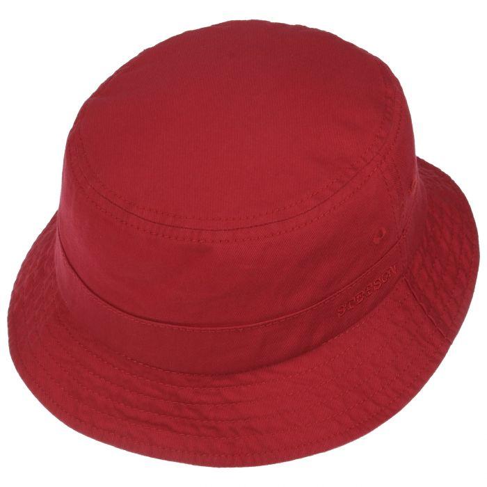 Organic Cotton Hoed met UV-Bescherming rood
