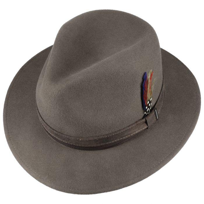 Landell Traveller Wool Hat khaki
