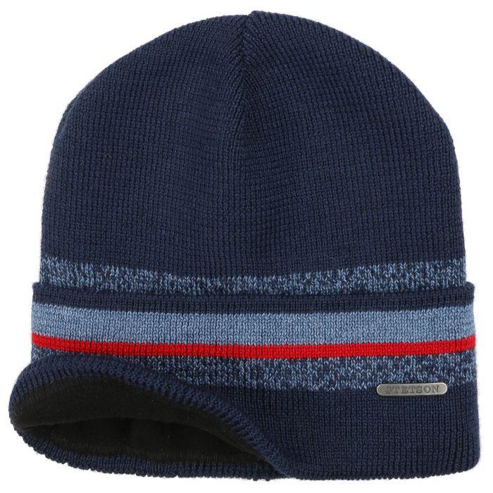 Hendrik Beanie Hat blue-mottled