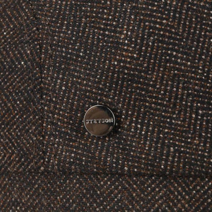 Chester Wool Silk Cashmere Flat Cap brown