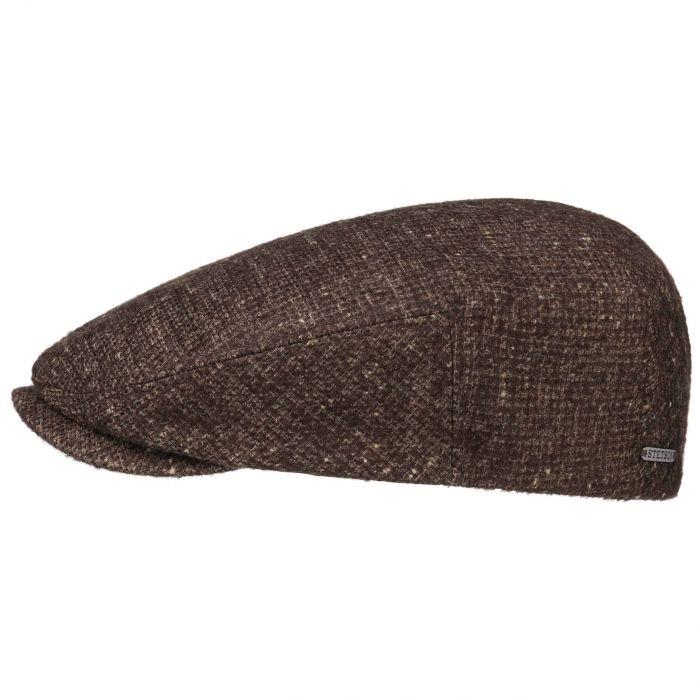 Driver Premium Flat Cap brown