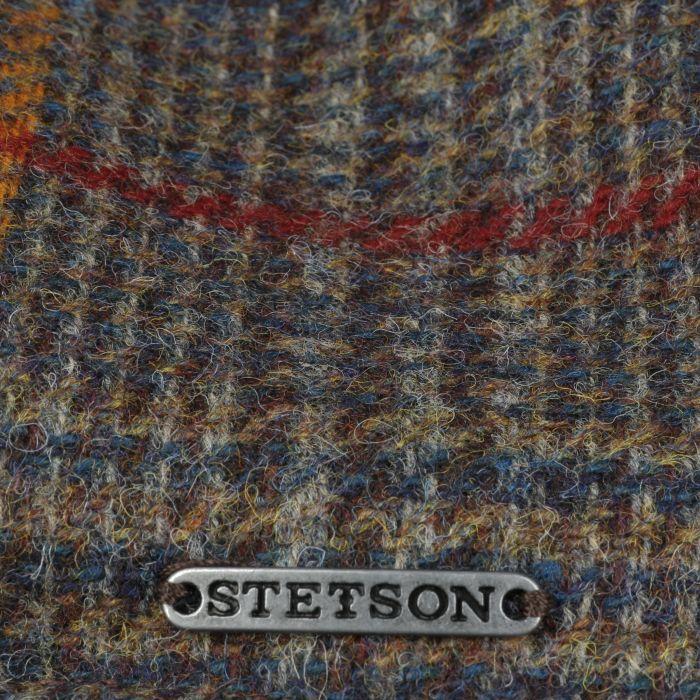 Texas Eriksdale Wool Flat Cap brown-mottled