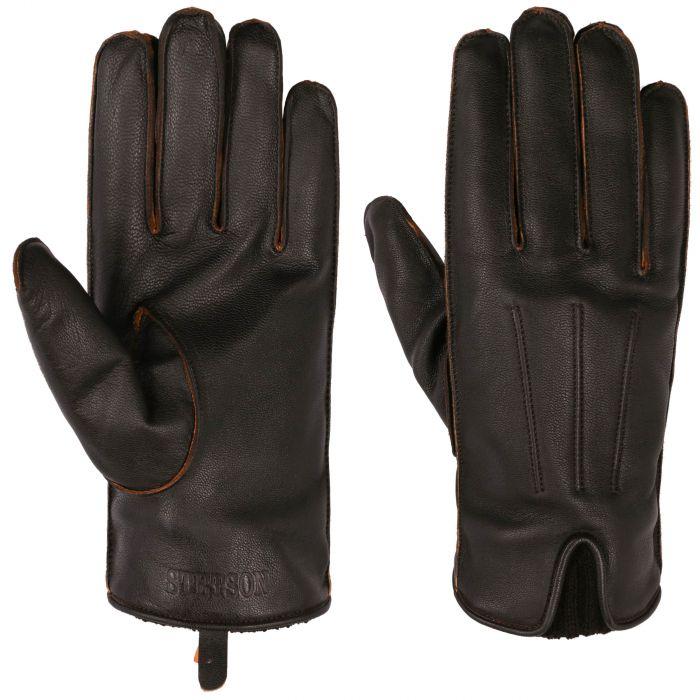 Glenside Goatskin Gloves black