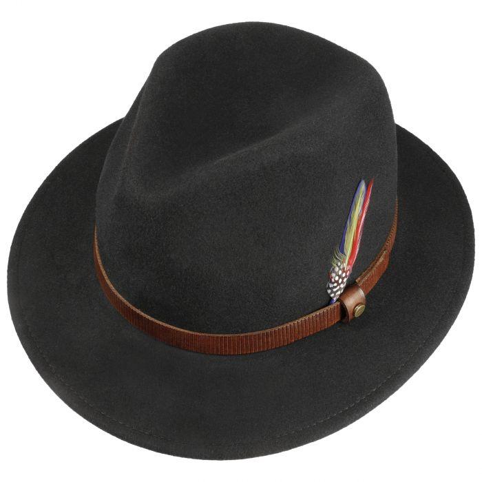Fallon Traveller Wool Hat black