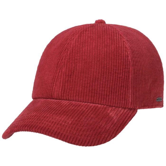 Ashton Corduroy Cap red