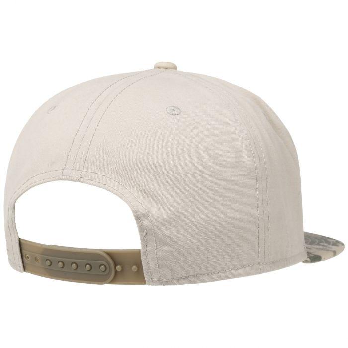 Camo Lettering Cotton Cap beige