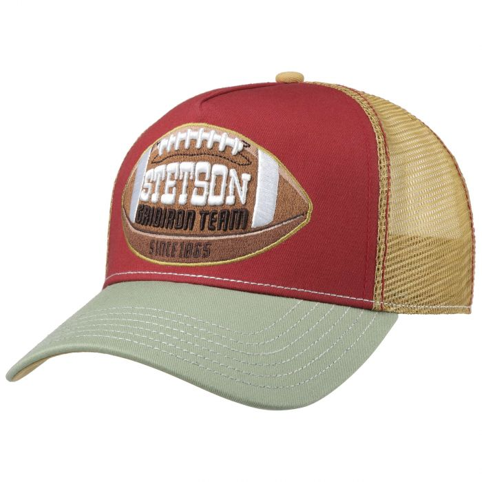 College Football Trucker Cap red