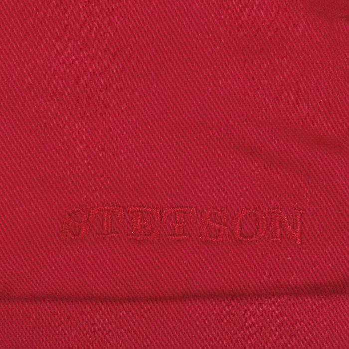 Casquette Cotton Twill rouge