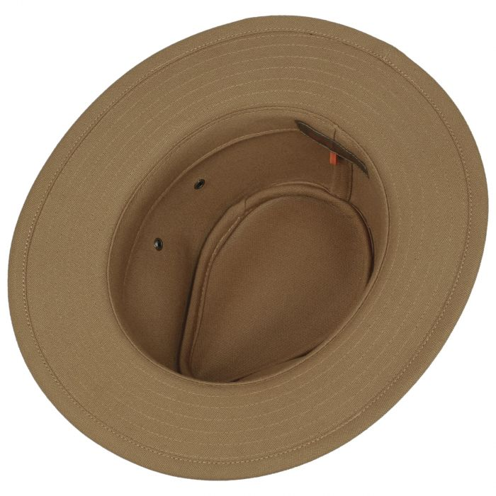 Calf Leather Traveller Hat brown