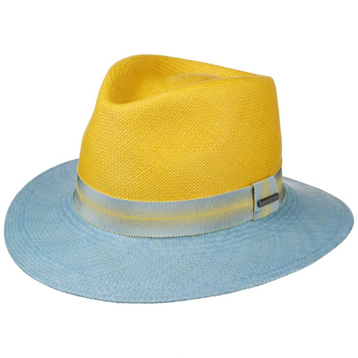 Lendano Twotone Traveller Panamahut gelb