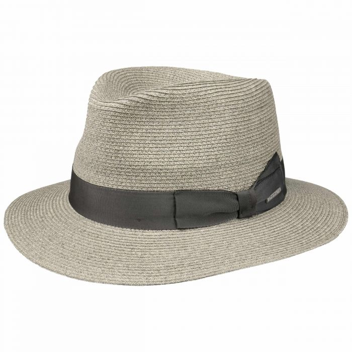 Ventaco Traveller Straw Hat grey-mottled