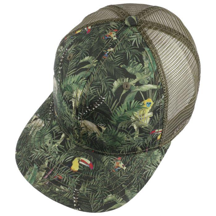 Green Jungle Trucker Cap grün