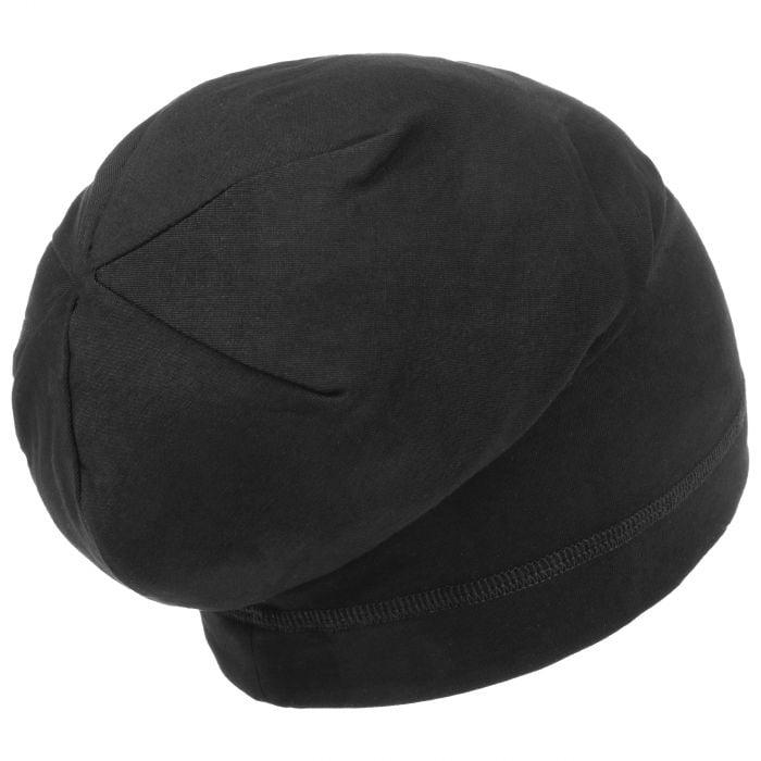 Cotton Beanie Hat black