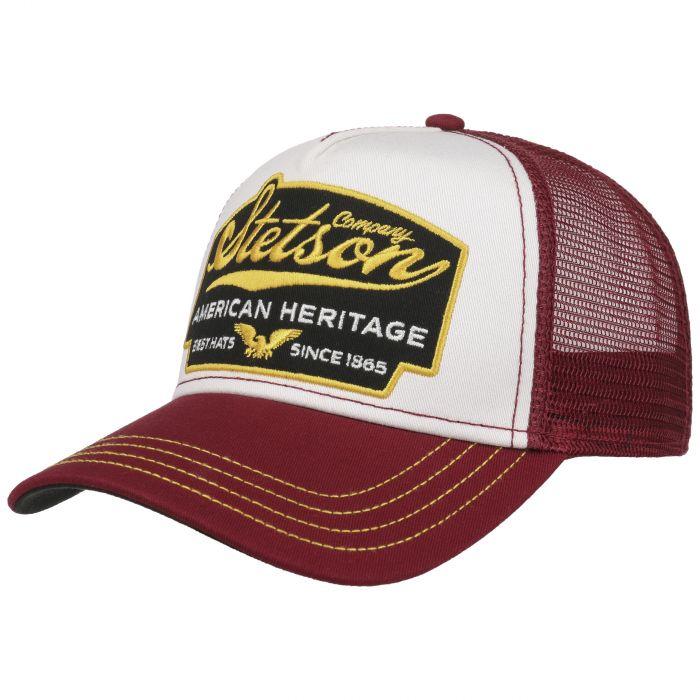 American Heritage Trucker Cap Small bordeaux