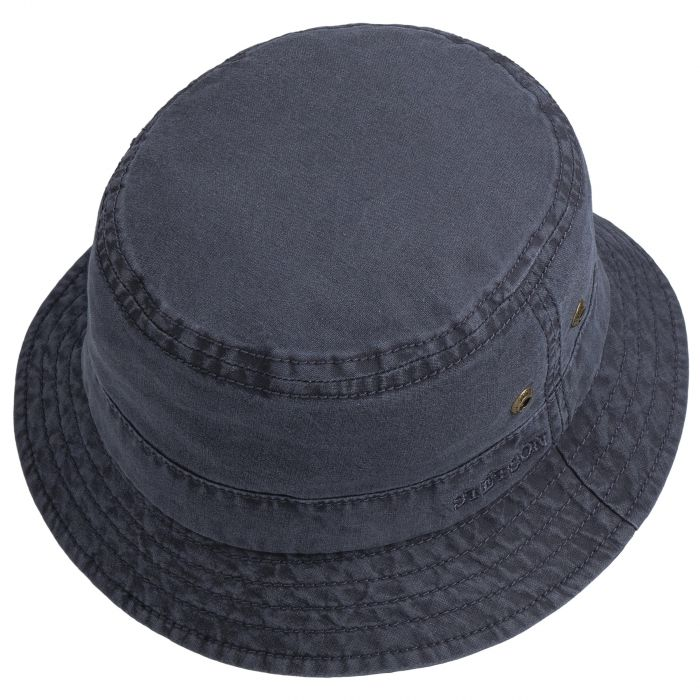 Delave Cotton Hat blue
