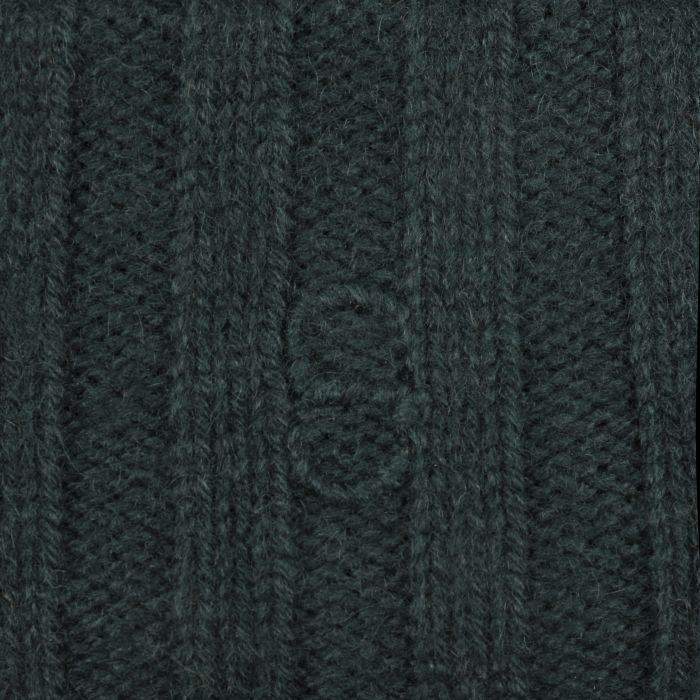 Surth Cashmere Knit Hat dark green