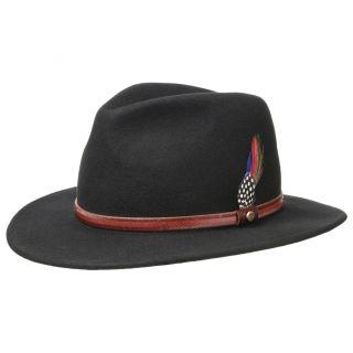 STETSON Outdoor Traveller Wool Hat Hat Hats Rantoul Woolfelt Olive 41 New Trend