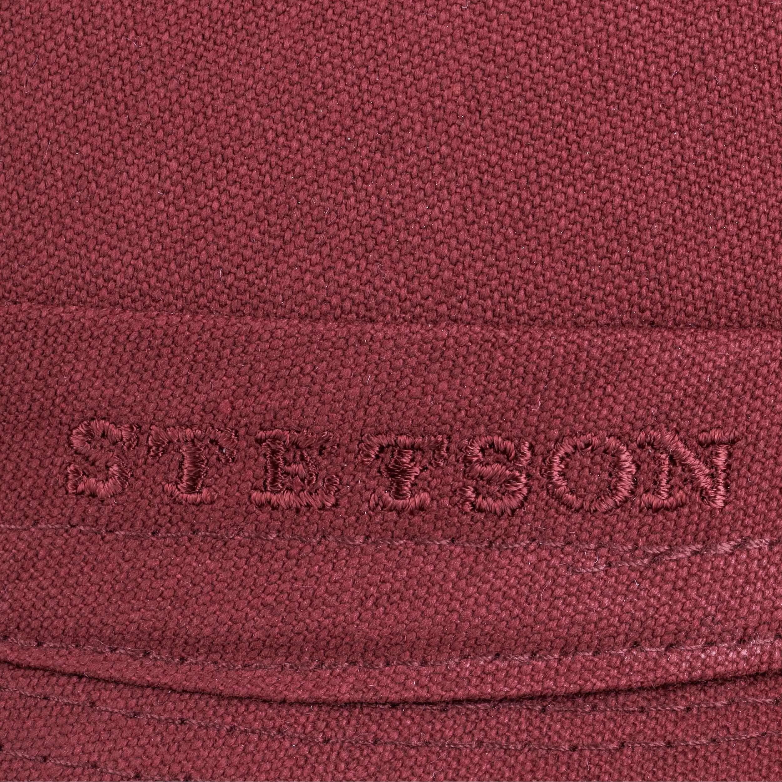 Teton Cloth Trilby Hat dark red