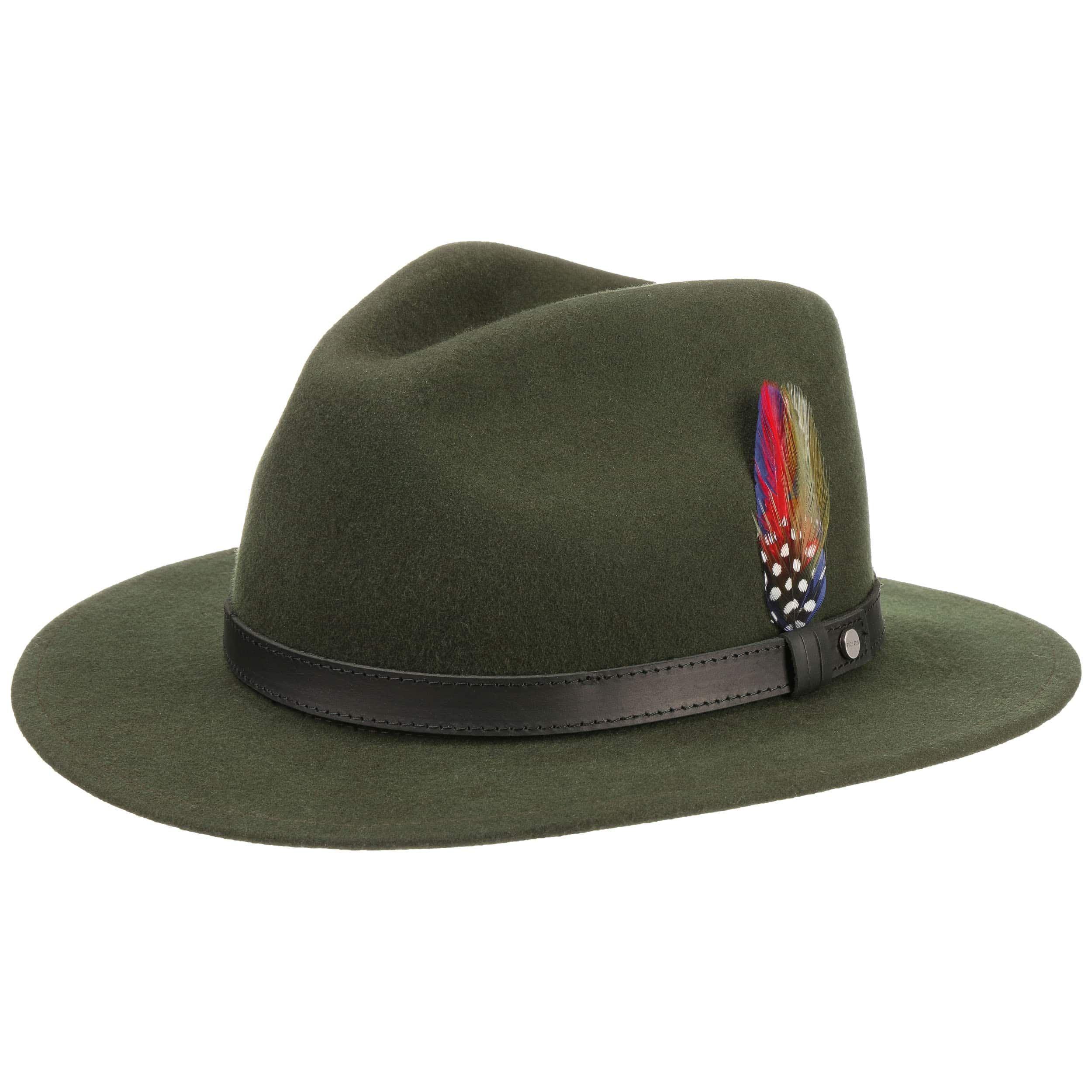Yutan Wool Hat dark green