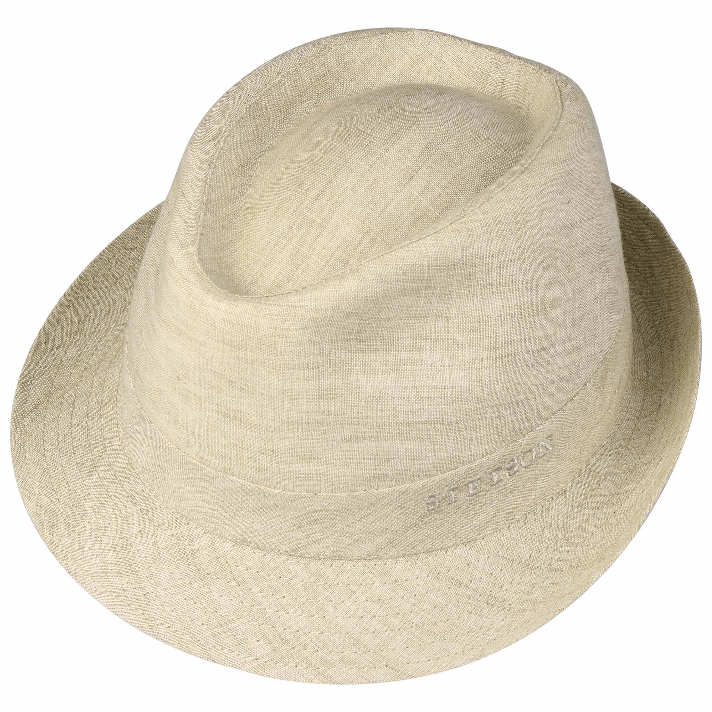 detailed look factory outlet buy Geneva Linen Trilby beige