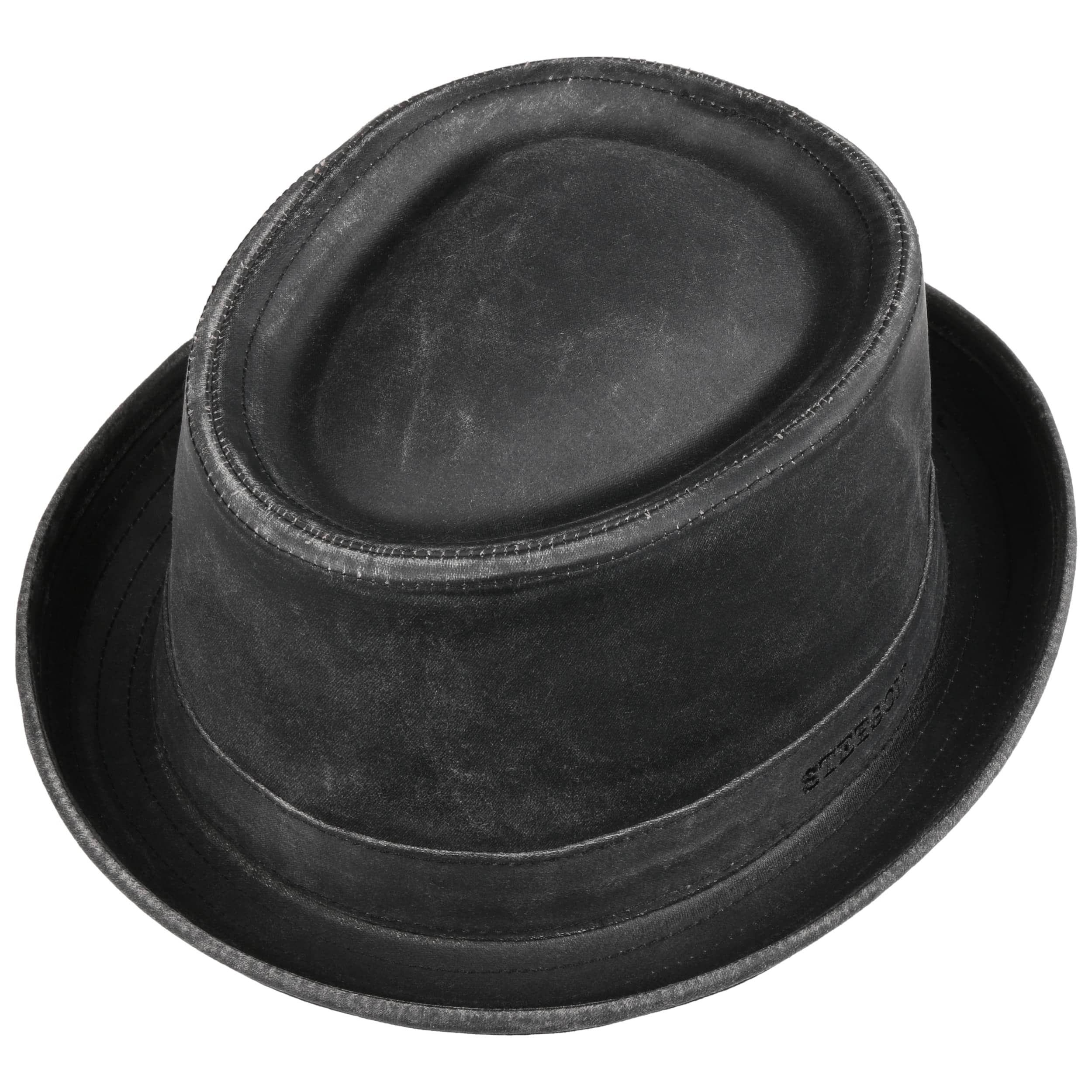 Odenton Pork Pie Cloth Hat black