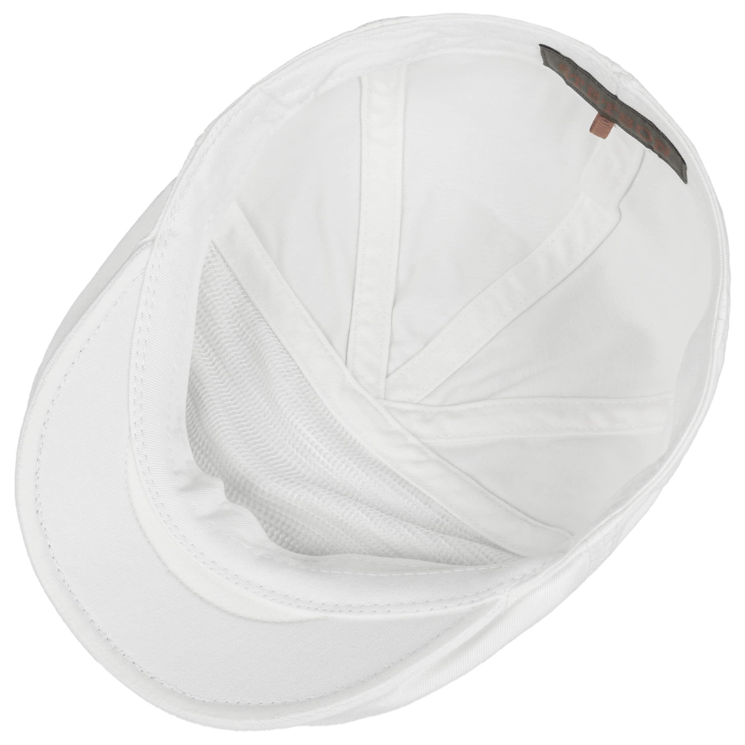 Paradise Cotton Flatcap weiß