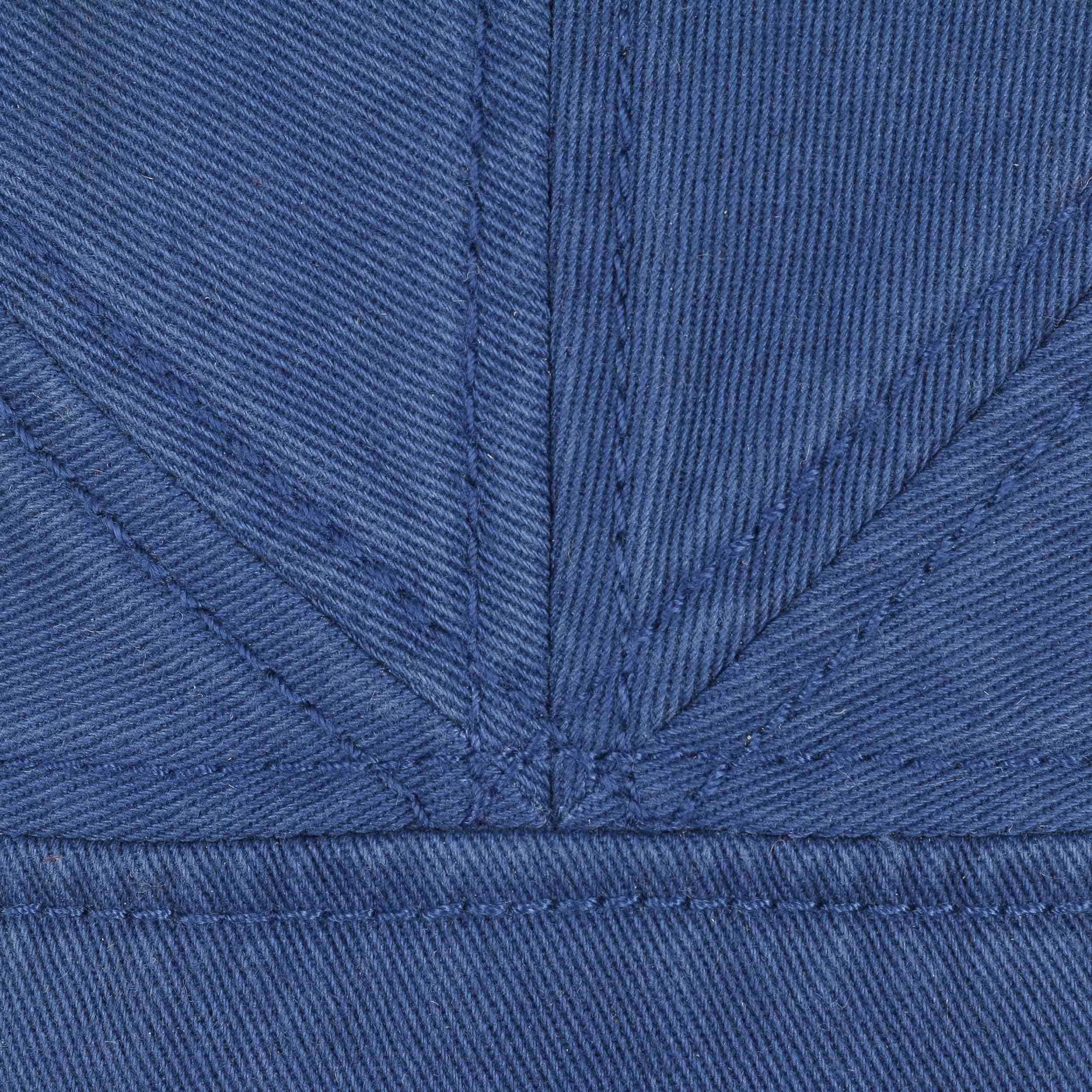Paradise Cotton Flat Cap royal-blue