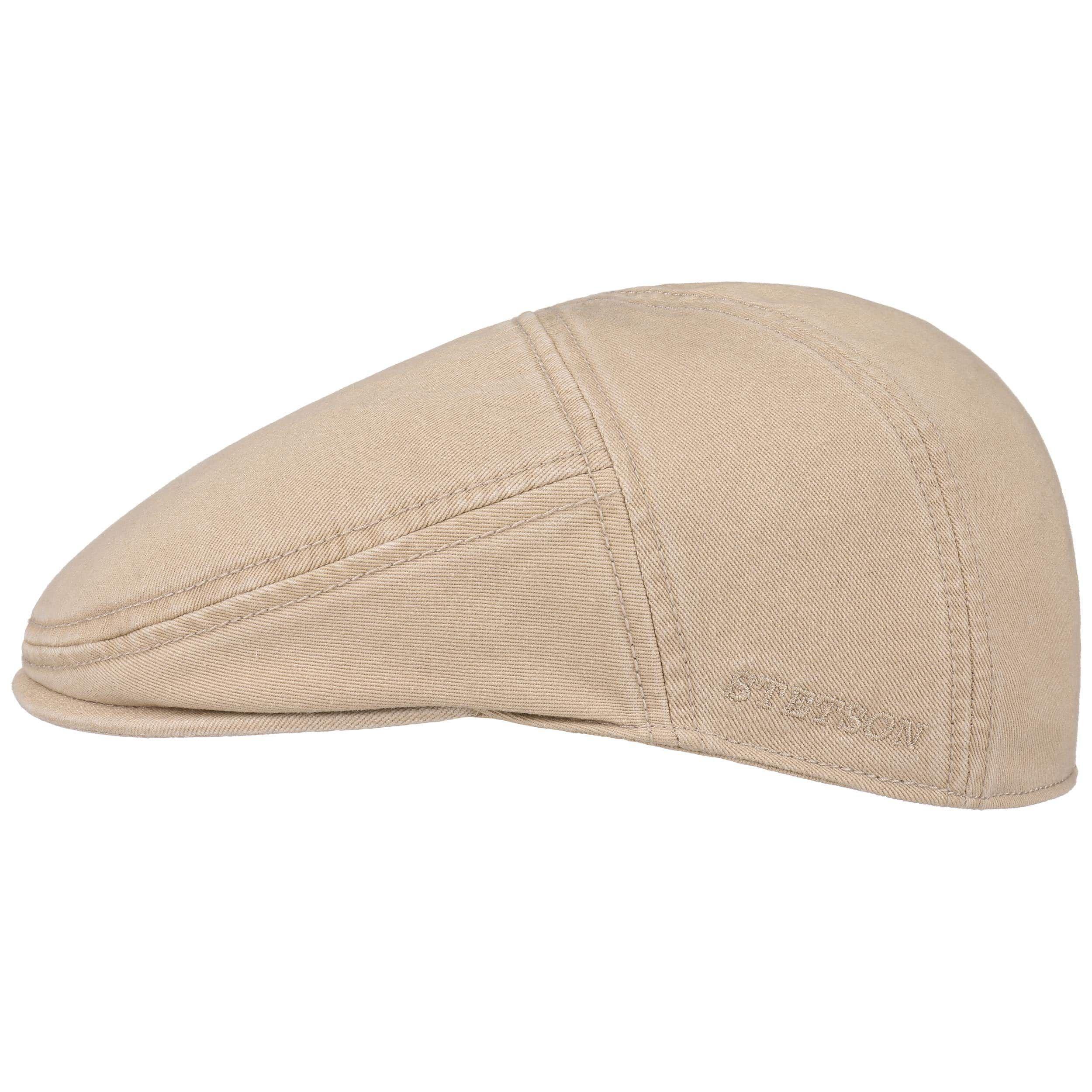 Paradise Cotton Flat Cap beige