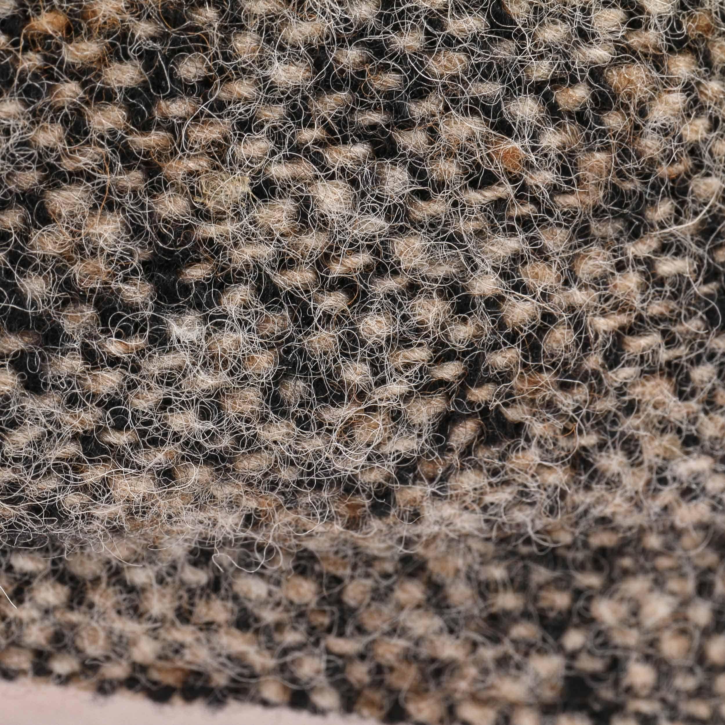 Hatteras Donegal Schirmmütze beige-schwarz