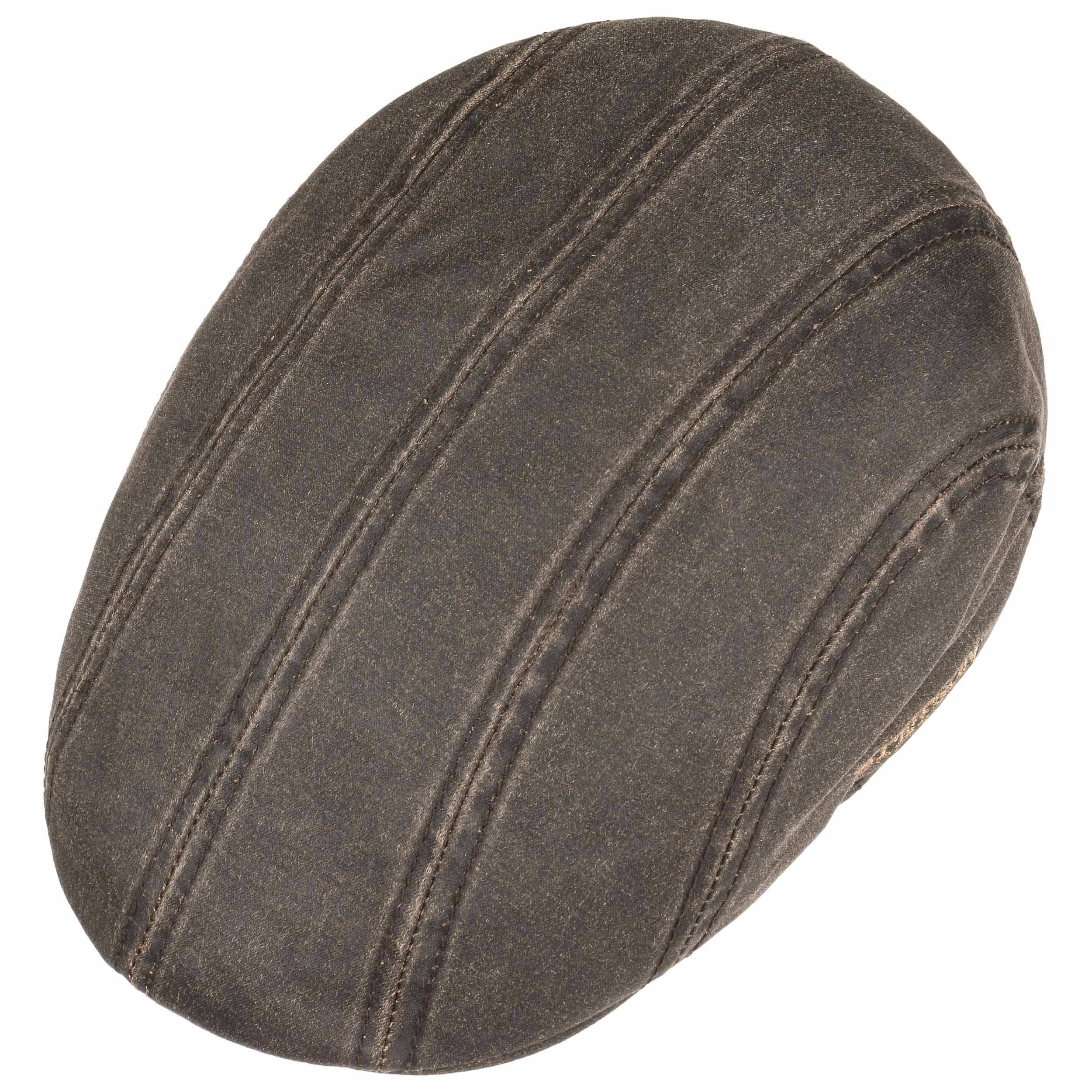 Madison Old Cotton Flatcap braun