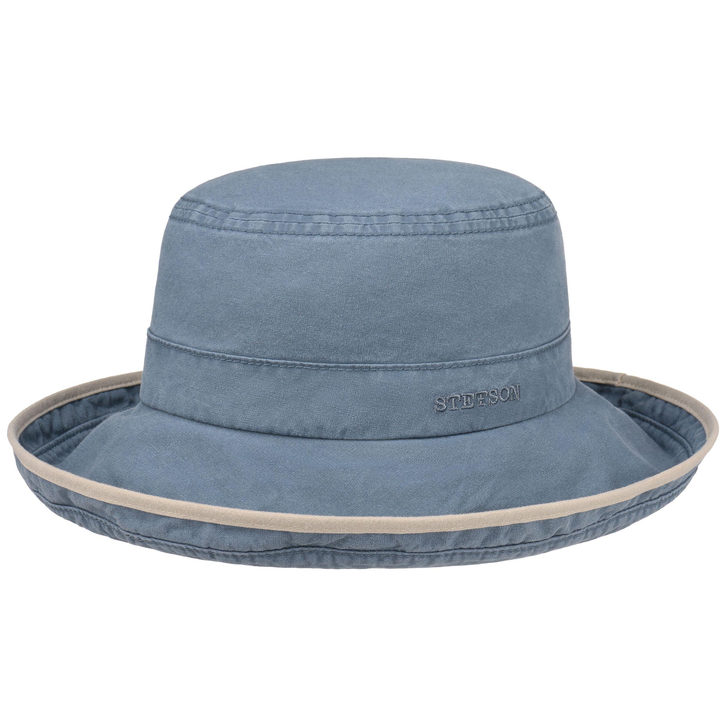 Lonoke Delave Stoffhut hellblau