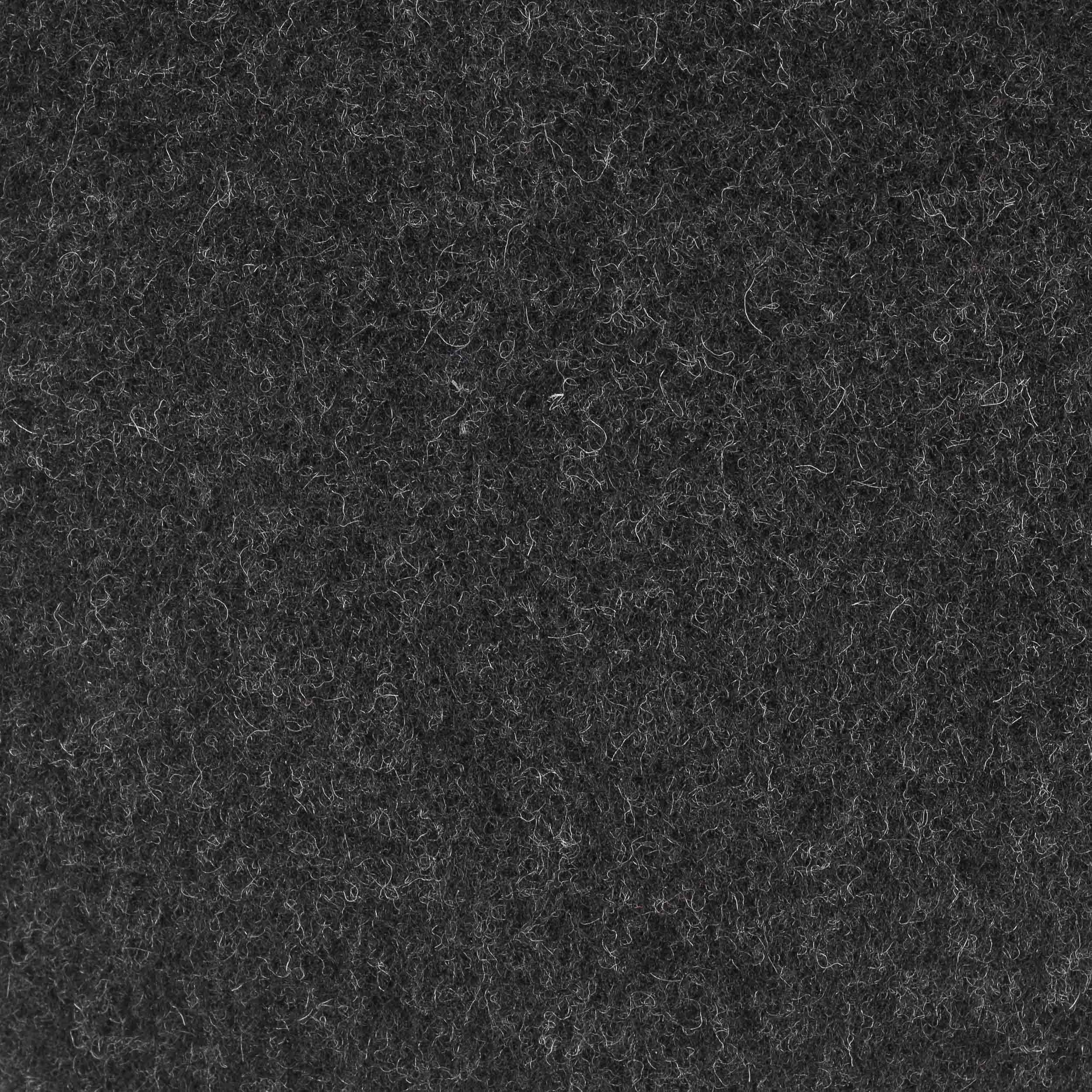 Kent Wool Ohrenklappen Flatcap anthrazit