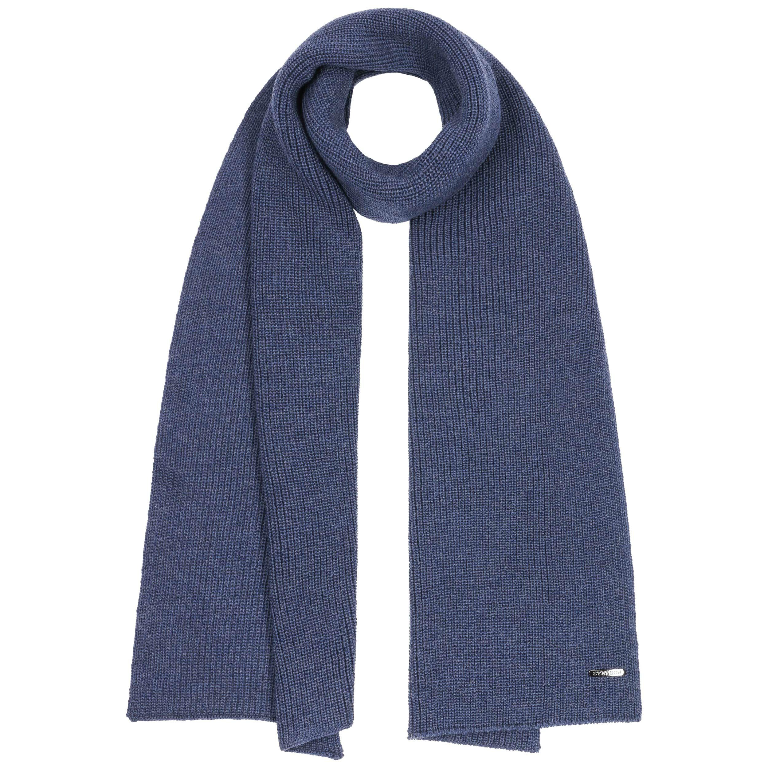 Bufanda Merino Caledonia azul
