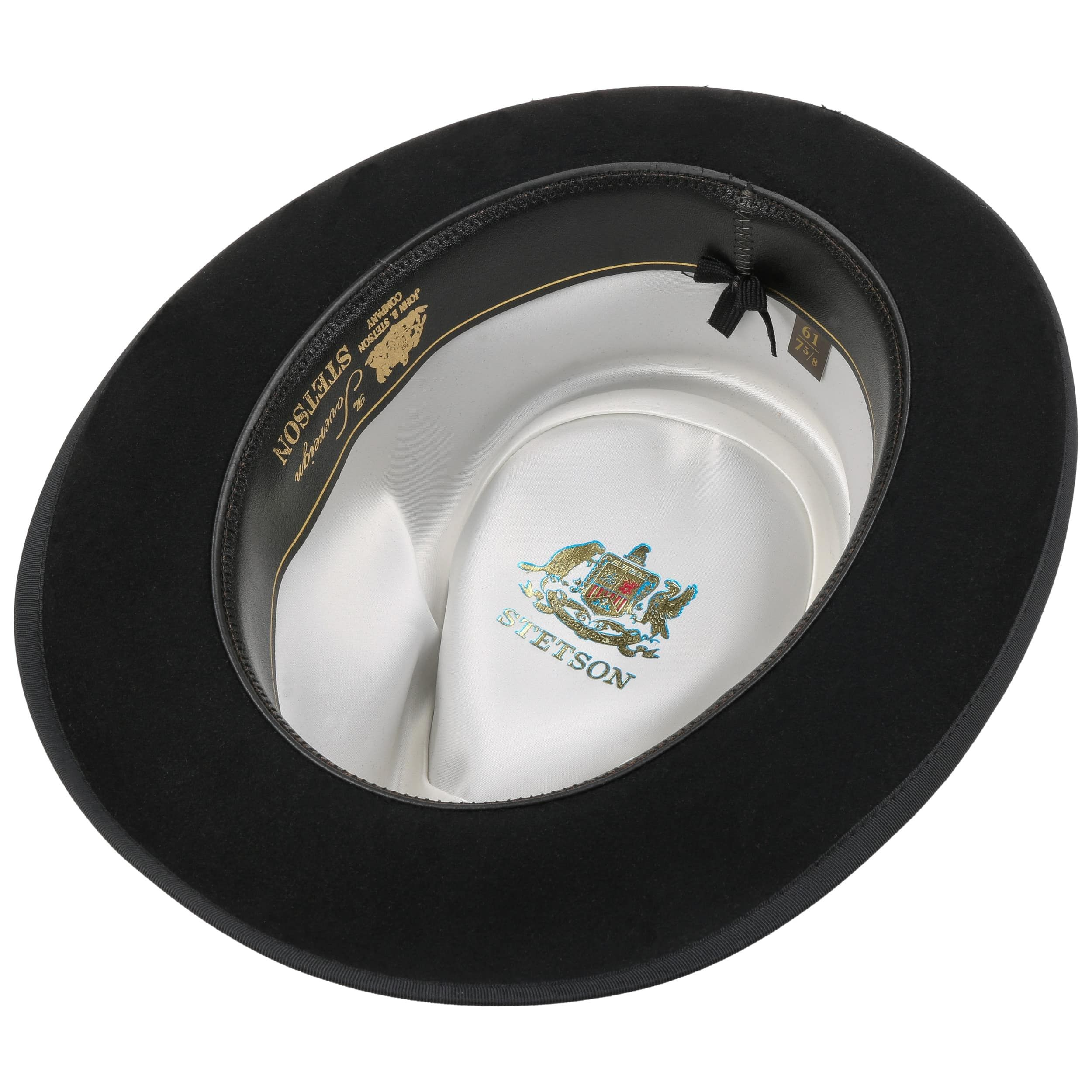 Whippet VitaFelt Fur Bogart Hat black