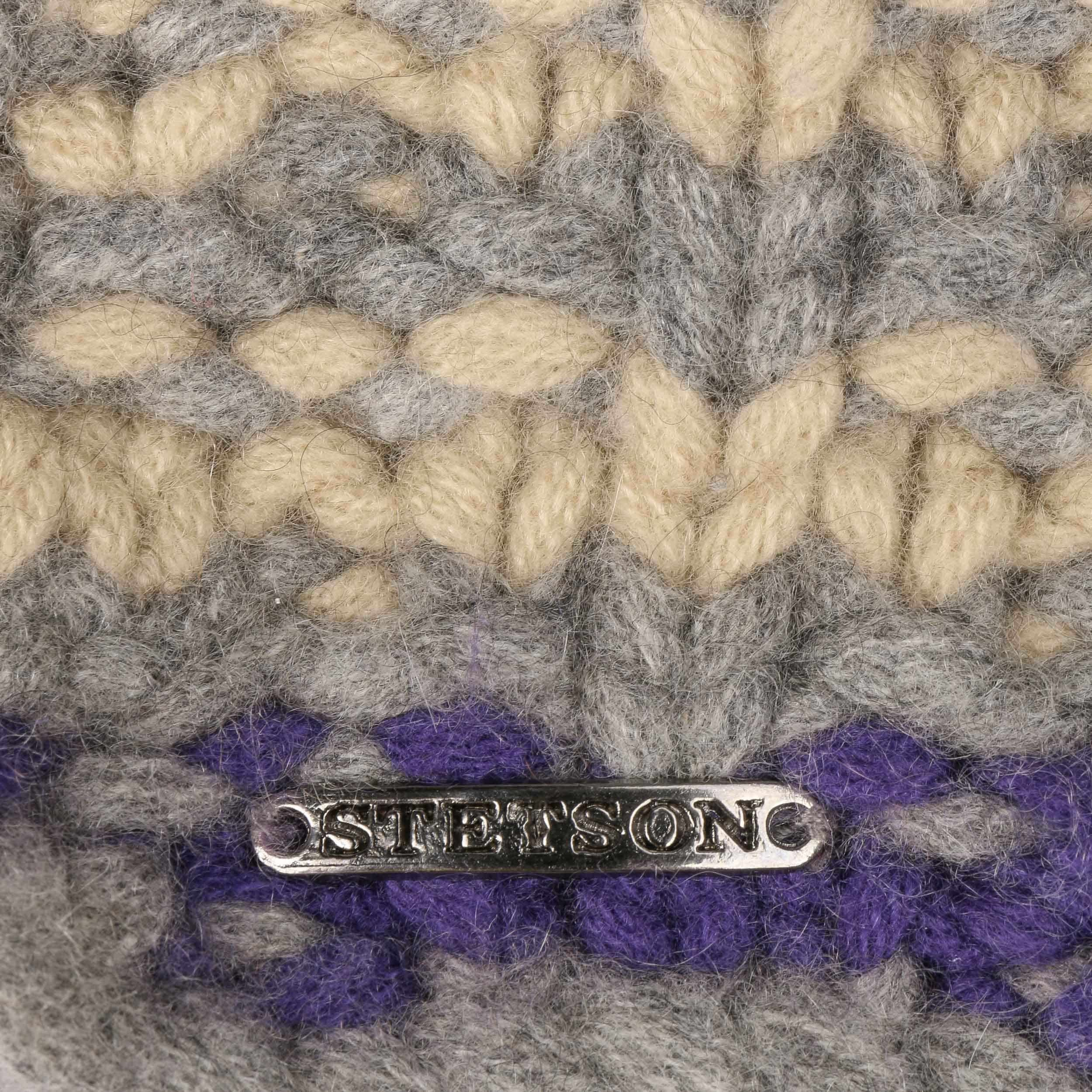 Layton Cashmere Beanie beige-grey